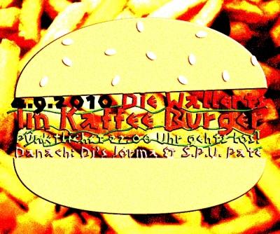 Die Wallerts - Humppa im Kaffee Burger am 4.9.2010