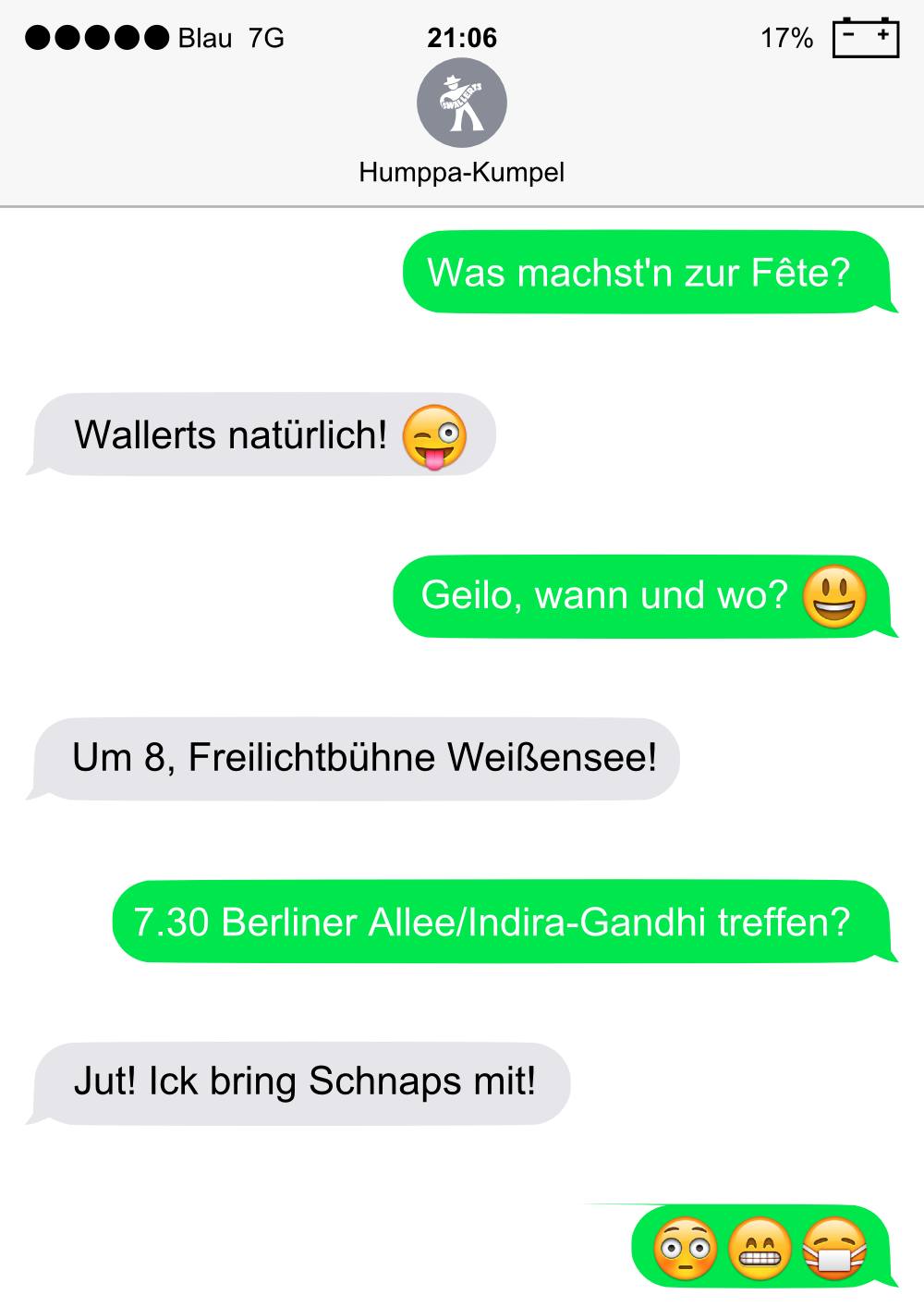 Transen Treffen in Berlin - 1 Anzeige